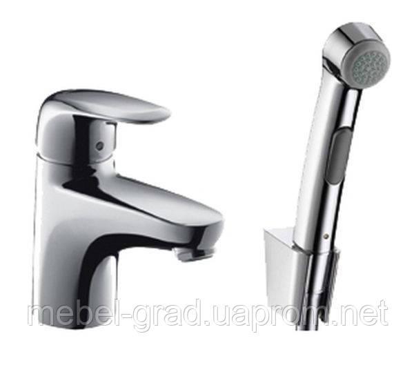 Набор для биде (гигиенический душ и смеситель) Hansgrohe Talis E2