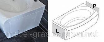 Панель для ванны Ravak Evolution боковая с креплением левая 70 см