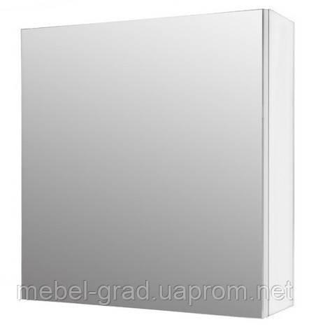 Зеркальный шкафчик ШЗ-700 Буль-Буль белый