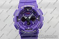 Наручные часы  копия Casio G-Shock Ga-120 фиолетовые