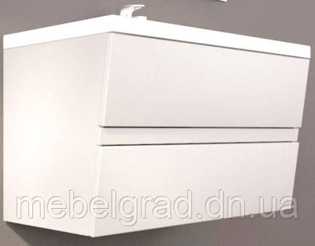 Шкафчик Cyprus с умывальником Peggy 85 Буль-Буль белый
