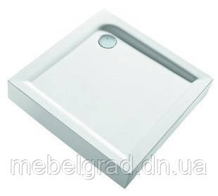 Душевой поддон квадратный Kolo First 80x80 (с интегрированной панелью) XBK1680