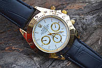 Мужские часы Rolex Daytona копия Gold-White