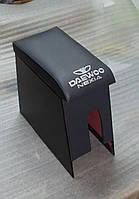 Подлокотник Дэу Нексия / Daewoo Nexia (серый с надписью)