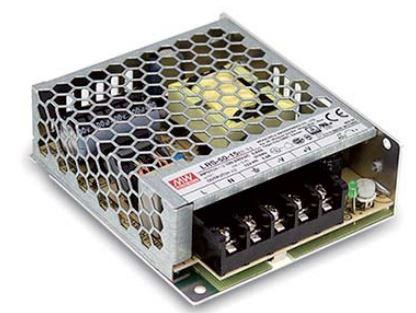 Источник питания LRS-50-12 12вольт 50вт IP20 7609