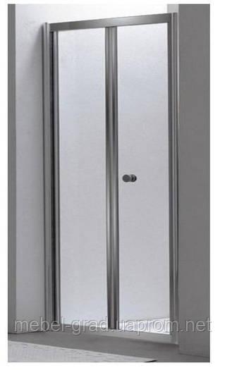Купить Душевая дверь раздвижная 80 см Eger Bifold 599-163-80 ... f6d16d59760
