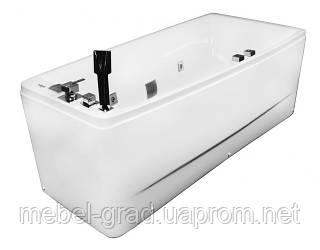 Ванна асиметрична гідромасажна Volle 12-88-102/R 170х75 права