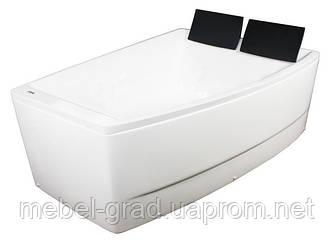 Ванна асиметрична Volle TS-100/R 170х120 права