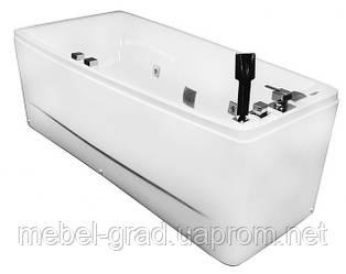 Ванна асиметрична гідромасажна Volle 12-88-102/L 170х75 ліва