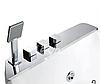 Ванна асимметричная гидромассажная Volle 12-88-100/L 170х120 левая, фото 2