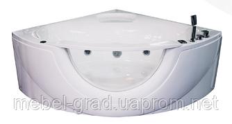Ванна асиметрична гідромасажна Volle 12-88-103 150х150