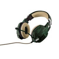 Игровая гарнитура trust gxt 322c gaming headset - green camouflage (20865)