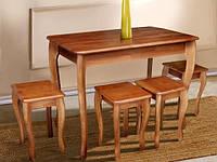 Обеденный набор ( стол + 4 табурета) Смарт Микс Мебель