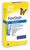 Abbott Тест-полоски FreeStyle Optium №50