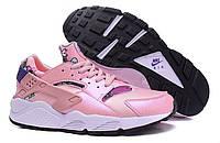 "Кроссовки женские Nike Air Huarache Run Print Aloha Pack Pink ""Розовые"" р.36,38, фото 1"