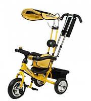 Велосипед трехколесный Mars Mini Trike Желтый (LT950 жовтий)