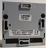 CEWAL RQ01 комнатный термостат воздуха настенный механический для отопления и охлаждения., фото 4