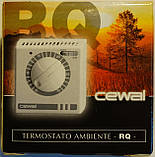 CEWAL RQ01 комнатный термостат воздуха настенный механический для отопления и охлаждения., фото 5