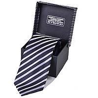 Мужской шелковый галстук ETERNO (ЭТЕРНО) EG575