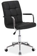 Офисное кресло Q-022  черный