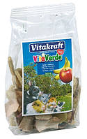 Корм Vitakraft Vita Verde, смесь фруктов, банан, яблоко, шиповник, 100 г
