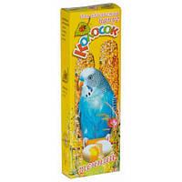 Лакомство Природа Колосок для попугая, яичный, 140г