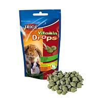 Витамины Trixie Vitamin drops для грызунов, с овощами 75г