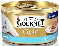 Консервы для кошек Gourmet Gold с тунцом, 85г