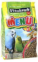 Корм Vitakraft Menu Kids для птенцов волнистых попугаев, 500 г