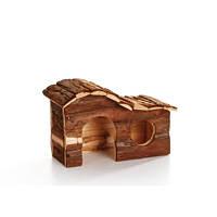 Домик  деревянный Pet Pro ФОРЕСТ АРКА для грызунов, вишня