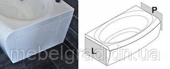 Панель для ванны Ravak Evolution боковая с креплением правая 70 см