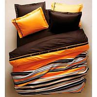 Постельное белье Ранфорс SOLID оранжевый Karaca Home