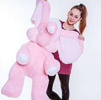 Слон – большой розовый слон 120 см, фото 1