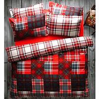 Постельное белье Ранфорс ATHENA красный Karaca Home