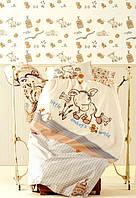 Постельное белье для новорожденных Ранфорс DONKEY'S WORLD Karaca Home