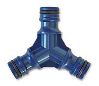 """Тройник пластиковый, 3/4"""", Verano (арт. 72-131)"""