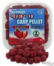 Пеллетс насадочный Haldorado TOP 10 Carp Pellet 8mm Красный карп (клубника)