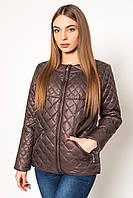 Куртка женская №28 шоколад р. 42-48