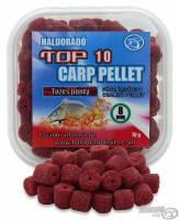 Пеллетс насадочный Haldorado TOP 10 Carp Pellet 8mm Огненный карп (печень+чили)