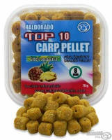 Пеллетс насадочный Haldorado TOP 10 Carp Pellet 8mm Сладкий ананас, фото 1