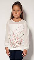 Детская нарядная блузка для девочки