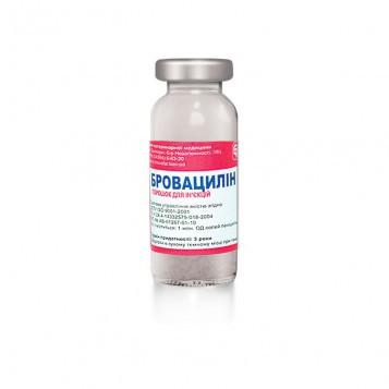 Бровацилин 1 г ветеринарный антибиотик для животных