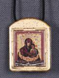 Ладанка с иконой Божьей Матери Святогорская