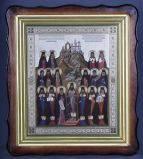 Икона Преподобных Отцев Святогорских №04