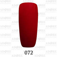 Гель-лак Adore Professional № 072 (кармин), 9 мл ADR 072/96