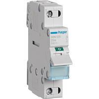Выключатель нагрузки Hager 1-полюсный 230В/25А SBN125