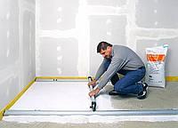 Устройство цементной стяжки (до 50 мм)