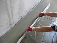 Устройство цементной стяжки (до 100 мм)