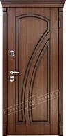 Стальные двери в квартиру ТМ Двери Украины модель Клио Серия Сити Комплектация 1