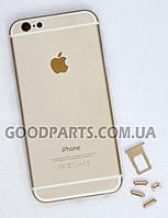 Задняя панель для iPhone 6 золотой